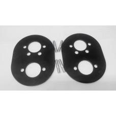 Пластины монтажные  ( 2 пластины 3 мм и шпильки )